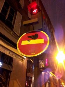 2013-03-01 - Clet - rue du renard (2)