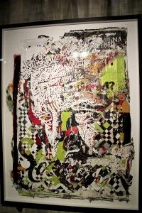 2013-03-06 (70) Mayhem series 4, Affiches collectées dans la rue, découpées à la main et au laser, 2012, Vhils, Collection particulière courtesy Galerie Magda Danysz