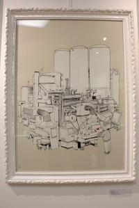 Art urbain - BLU, (Italie), C M Y K N. 198, 2008, Sérigraphie, édition de 250 exemplaires