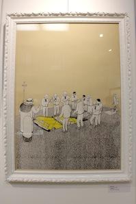Art urbain - BLU, (Italie), Funeral N. 127, 2008, Srigraphie, édition de 250 exemplaires