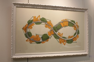 Art urbain - BLU, (Italie), Gaza strip N.60, 2008, Sérigraphie, édition de 150 exemplaires (1)
