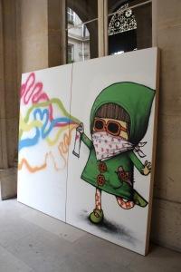 Art urbain - Dran, (France) (3)