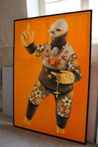 Art urbain - Inti, (chili), Predicador, 2012, Huile sur toile (1)