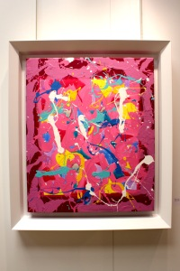 Art urbain - Jonone, (USA), Youth cultures youth vultures, 2012, Huile sur toile
