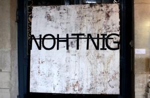 Art urbain - Rero, Nothing, 2011, technique mixte sur toile
