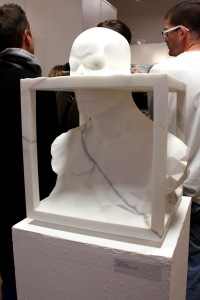 Art urbain - Roti, (France), Renaissance, 2012, Sculpture en marbre de Carrare (1)
