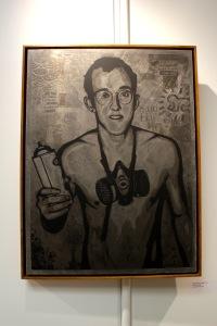 Art urbain - Shepard Fairey (Obey), (USA), Keith Haring, 2011, Sérigraphie sur métal (3)