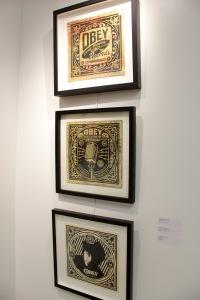 Art urbain - Shepard Fairey (Obey), (USA) - pochettes (1)