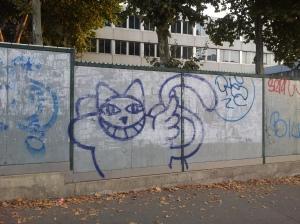 M Chat, Paris 18, Boulevard Ney, 2013-08-29