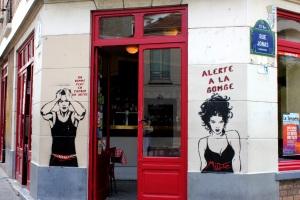 Miss Tic, Paris 13, rue des cinq diamants, 2013-06-08