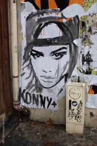 Konny, Paris 4, Rue saint Martin, 2013-10 MR