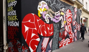 Frenchkiss Crew, Paris 4, rue ST Antoine, 2014-08 (2)