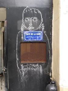 JC de Castelbajac, Paris 4, café de la gare, 2014-05 (2)