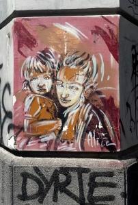 Alice Pasquini - 2014-08-02,Napoli - Via Nilo Vico Pallonetto a Santa Chiara